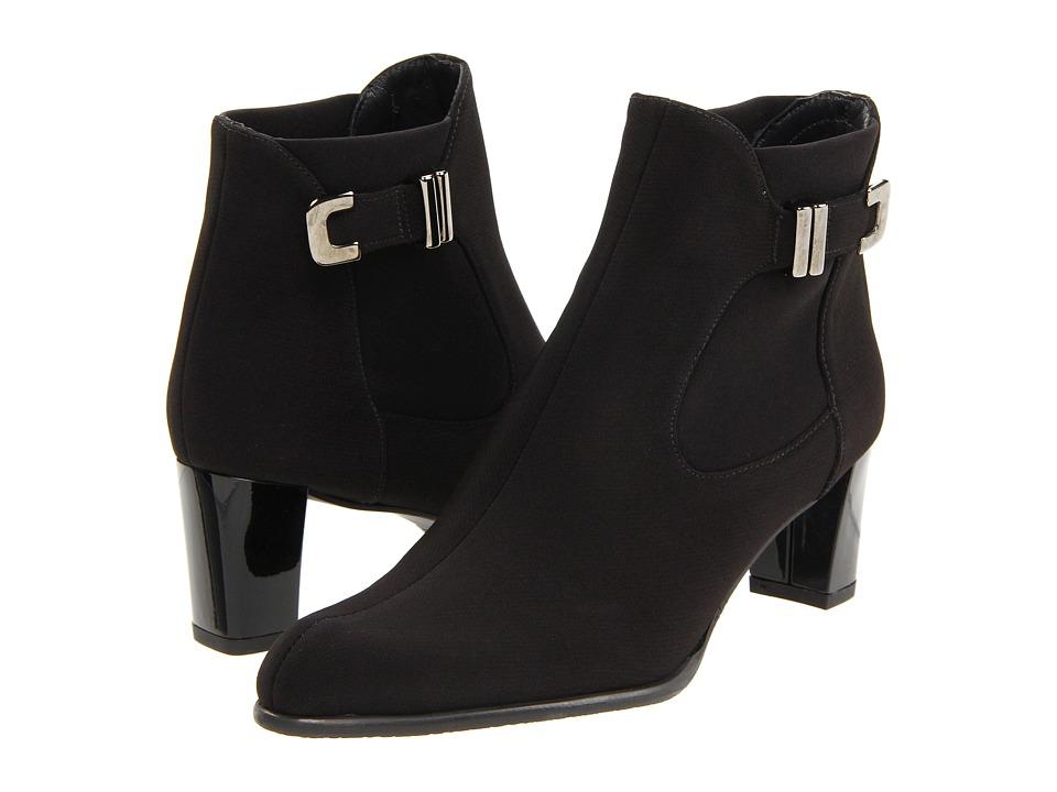 Stuart Weitzman - Bucket (Black Gore-Tex) Women's Pull-on Boots