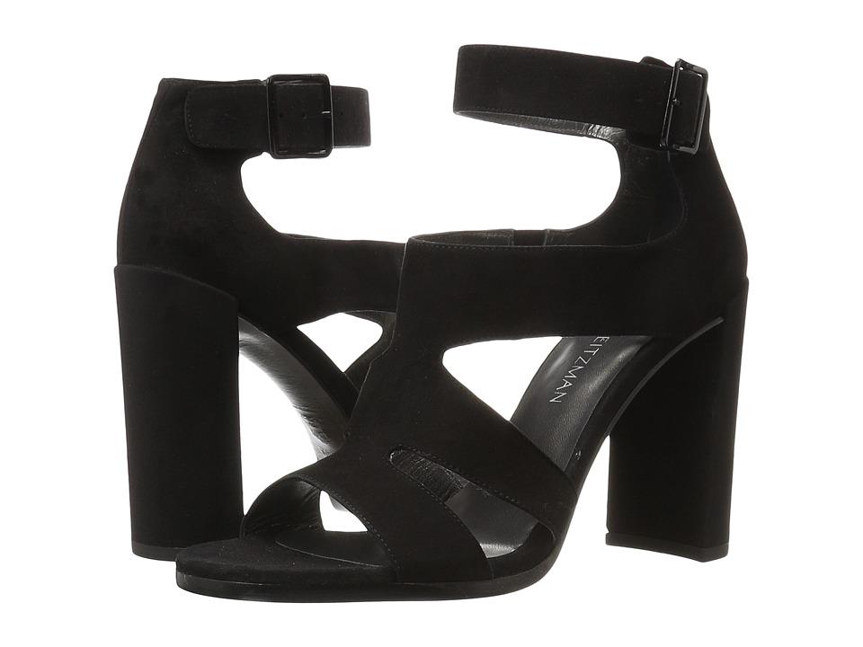 Stuart Weitzman - Demi (Black Suede) Women's Boots