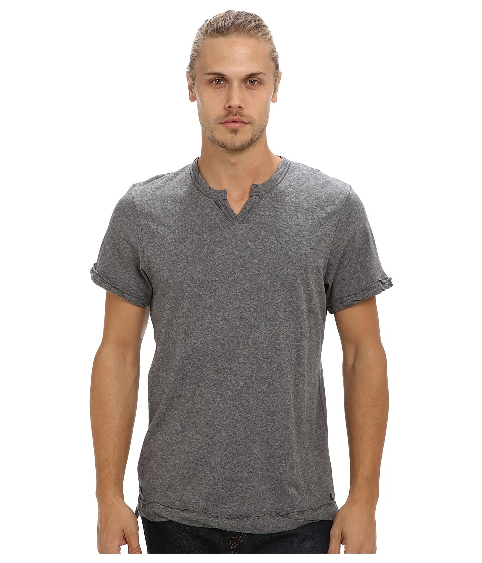 Alternative - Moroccan Tee (Oxford Grey Heather) Men's Short Sleeve Pullover
