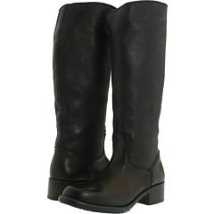 Frye Elena Pull On (Black Soft Vintage Leather) Footwear