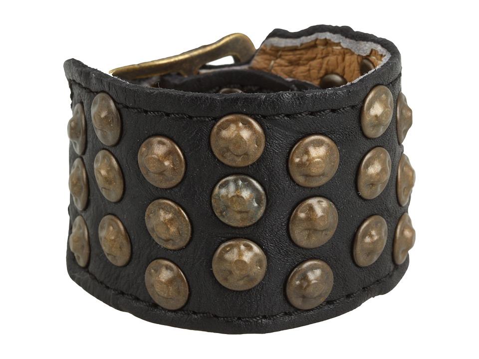 Frye - Stud Cuff (Black) Bracelet