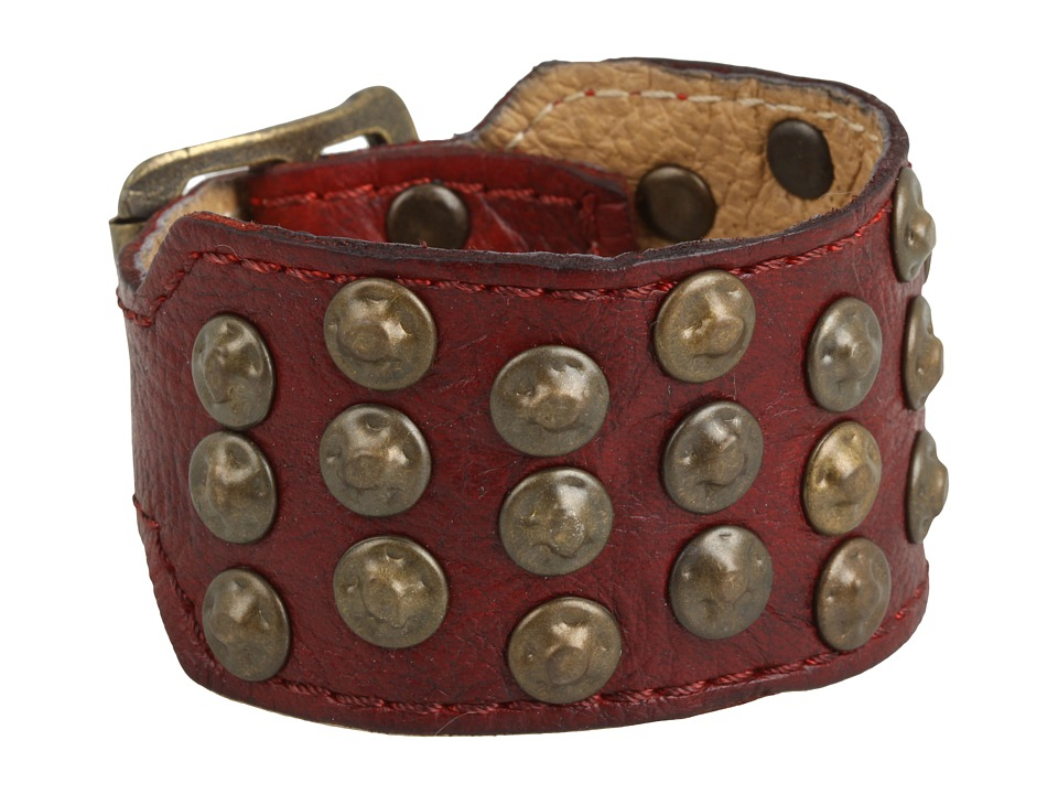 Frye - Stud Cuff (Burnt Red) Bracelet