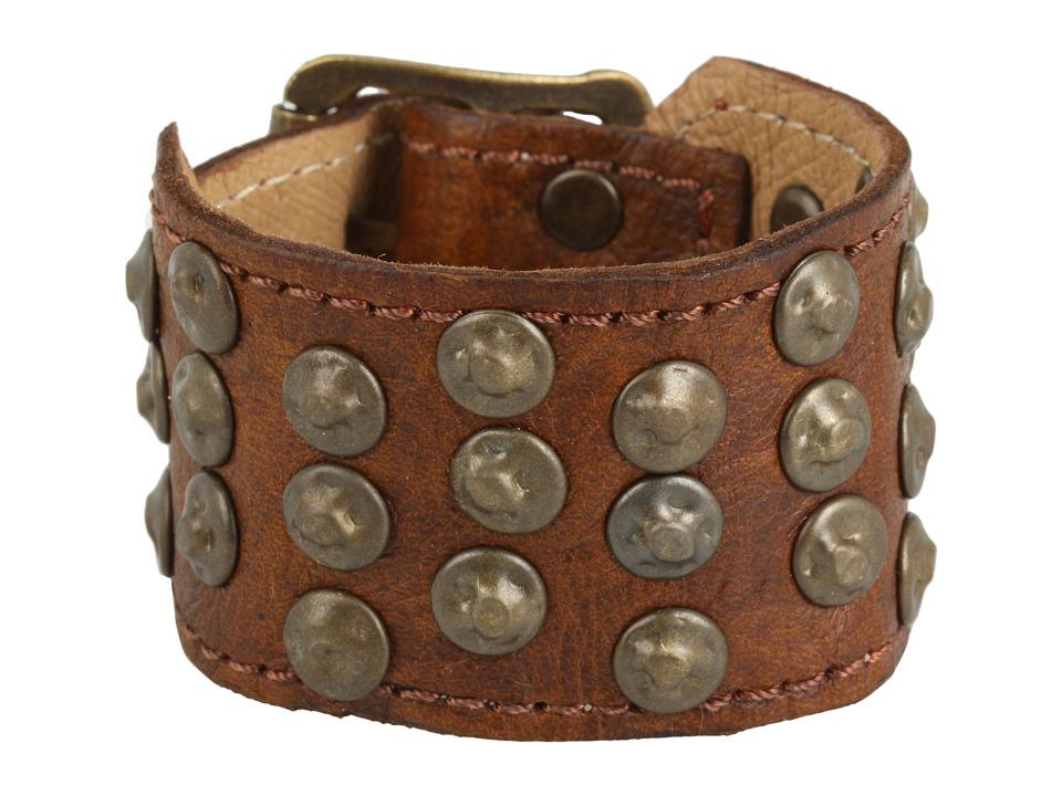 Frye - Stud Cuff (Cognac) Bracelet