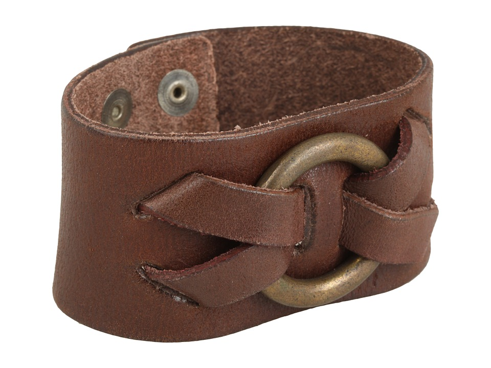 Frye - Ring Cuff (Brown) Bracelet