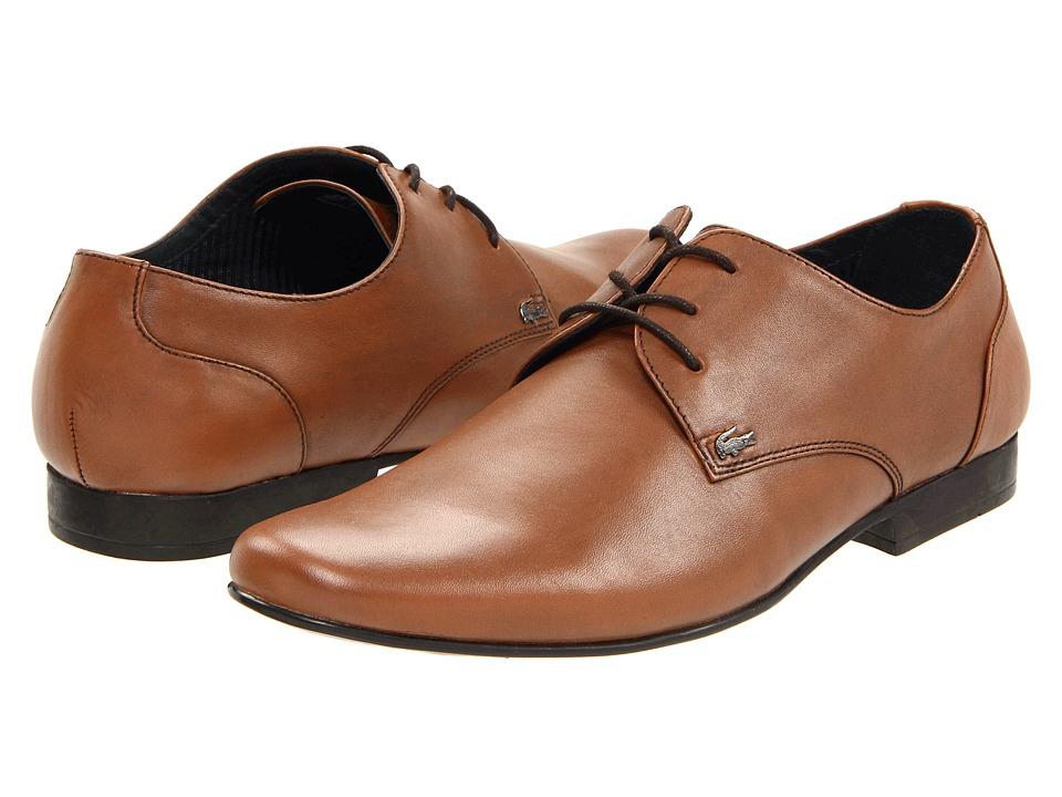 Lacoste - Henri (Tan) Men's Slip on Shoes