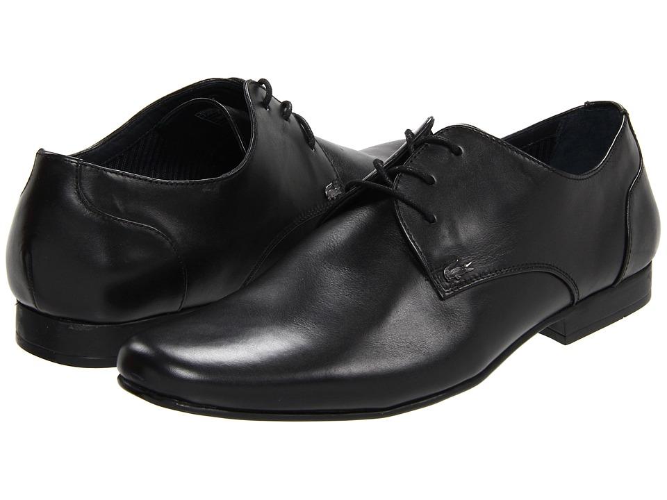 Lacoste - Henri (Black) Men's Slip on Shoes