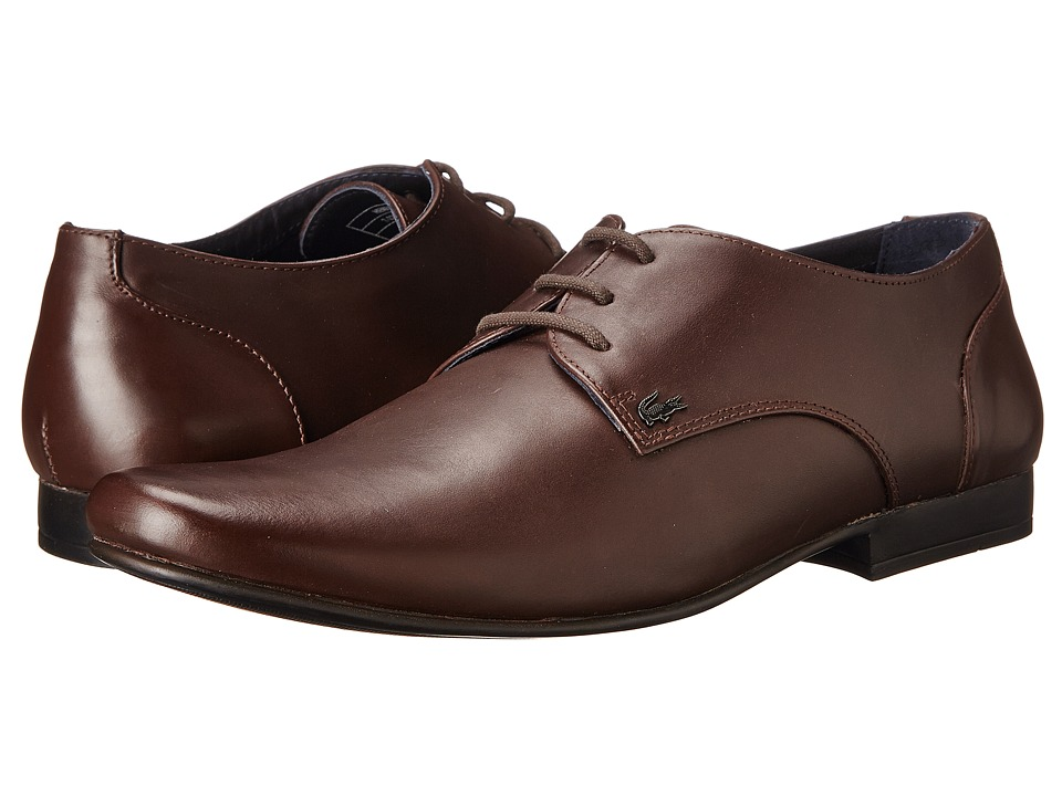 Lacoste - Henri (Brown) Men's Slip on Shoes