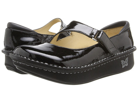 Alegria - Dayna Professional (Black Patent) Women's Maryjane Shoes