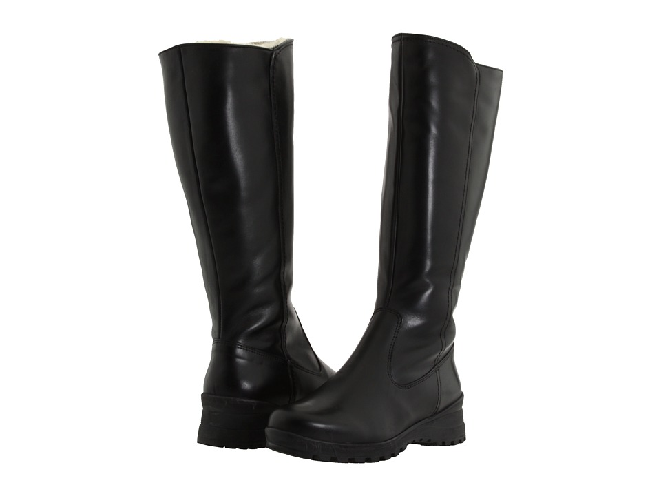 La Canadienne - Alex (Black Leather) Women's Boots