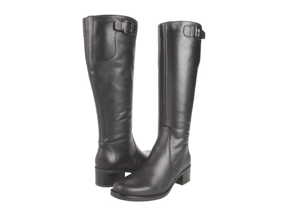 La Canadienne - Perlie (Black Leather) Women's Waterproof Boots