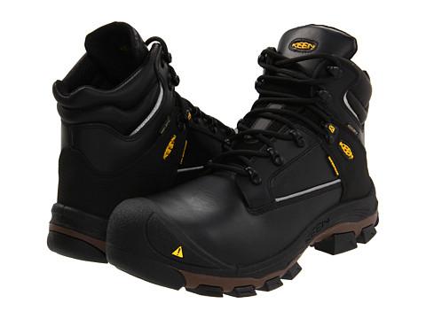 Keen Utility - Portland PR 6 (Black) Men's Work Boots