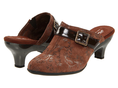 Helle Comfort - Blair (Brown Mansilla) Women's Clog Shoes