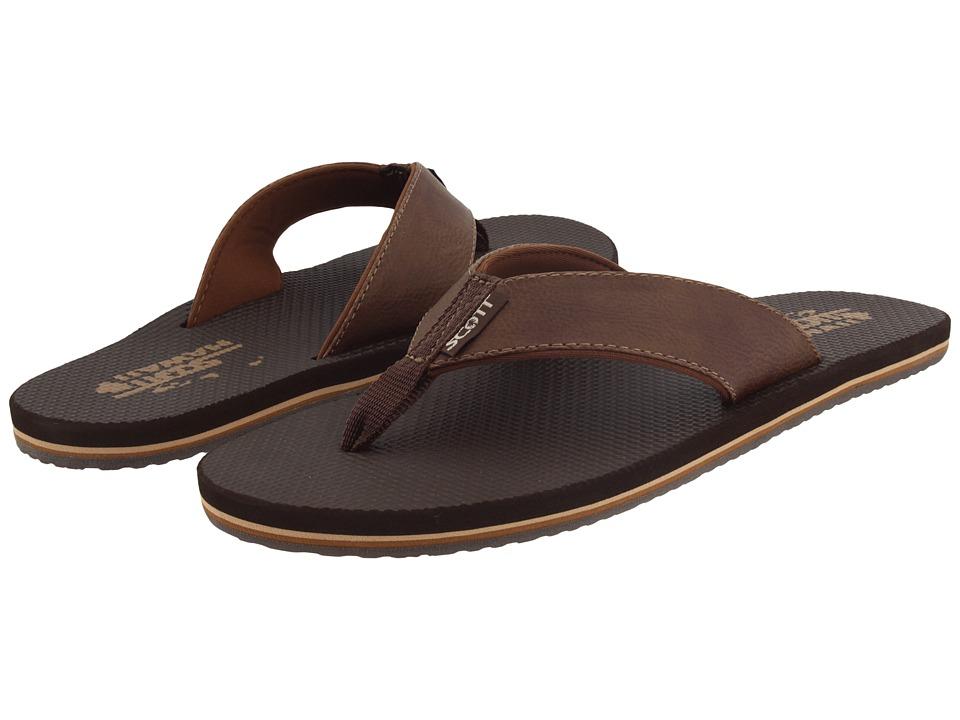 6c1ffaa5809f1 Scott Hawaii Koa (Black) Men s Sandals. EAN-13 Barcode of UPC 708087065195.  708087065195
