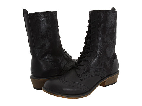Dirty Laundry - Paxton (Black Distressed) Women's Lace-up Boots