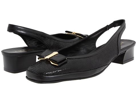 Amalfi by Rangoni - Milano (Black Tejus/Black Patent) Women