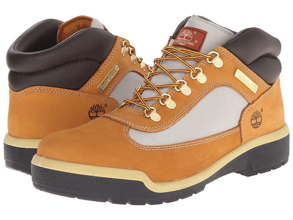Timberland - Field Boot (Wheat) Men's Lace-up Boots