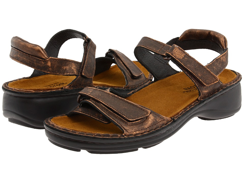 Naot Footwear - Rosemary (Burnt Copper Leather) Women's Sandals