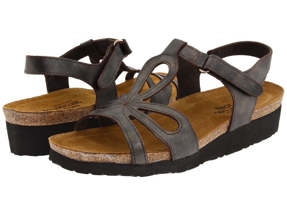 Naot Footwear - Rachel (Black Pearl Leather) Women's Sandals