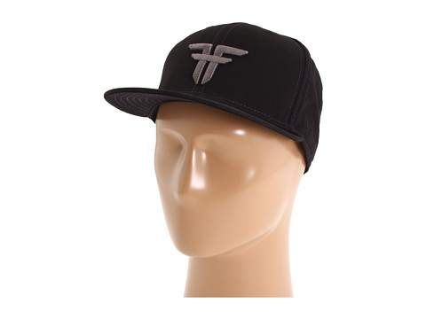 Fallen - Trademark New Era Hat (Black/Purple/Charcoal) Caps