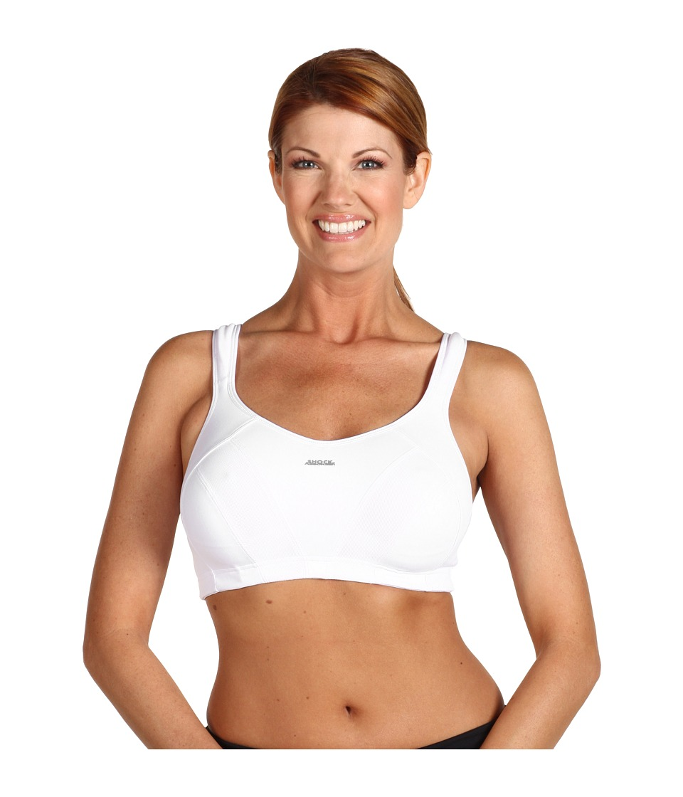 Shock Absorber - Max Sports Bra B4490 (White) Women's Bra
