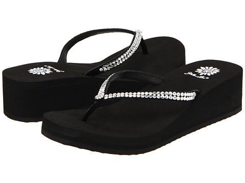 Yellow Box - Custard (Black) Women's Sandals