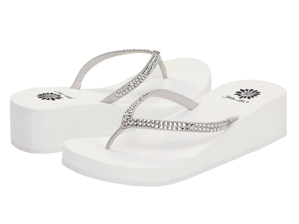 Yellow Box - Custard (White) Women's Sandals