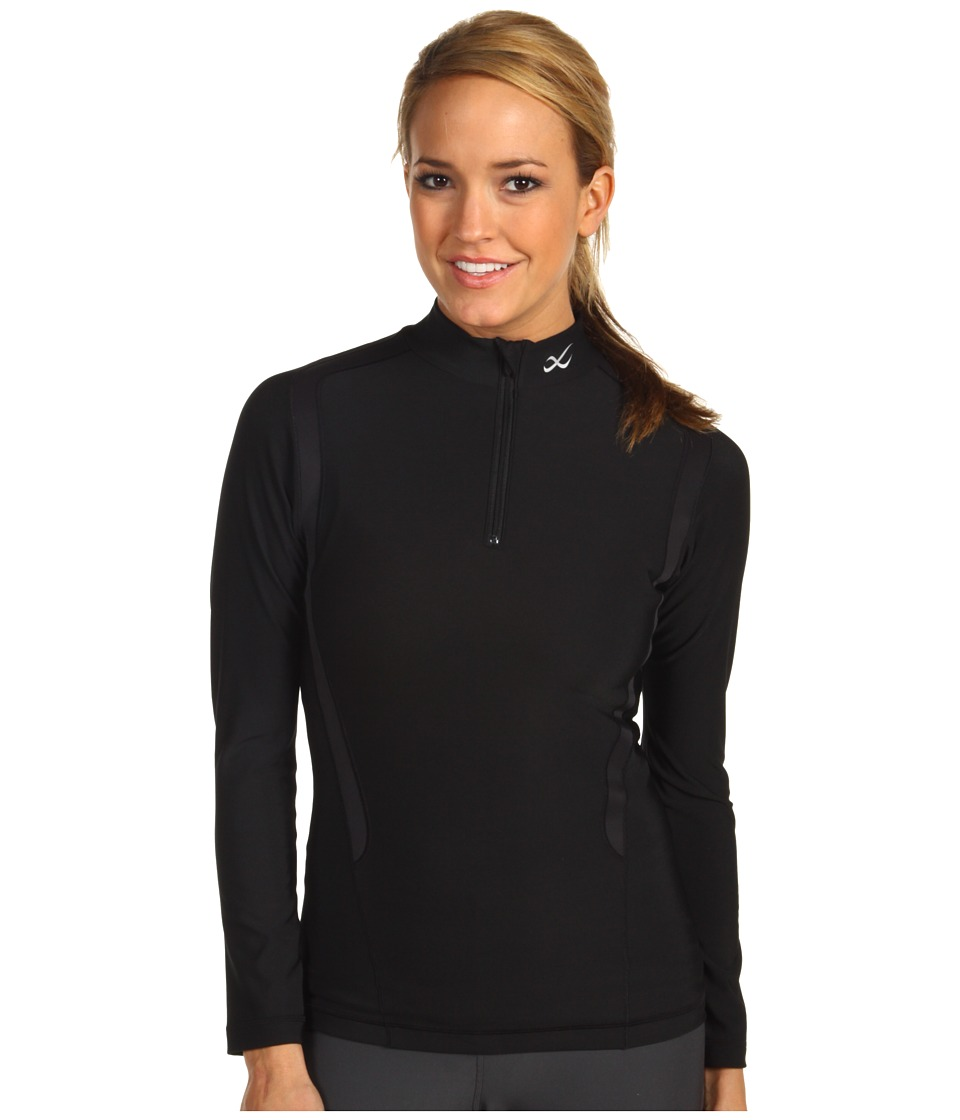 CW-X - Insulator Web Top (Black) Women's Workout