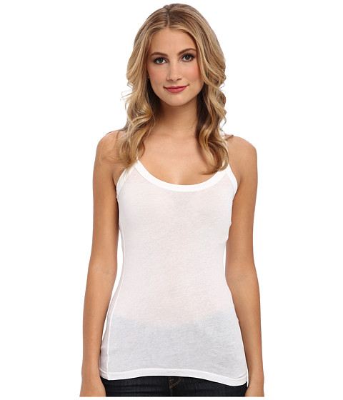 C&C California - Bold Tank Top (White) Women's Sleeveless