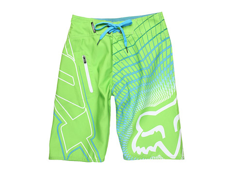 Fox Kids - V3 Boardshort (Big Kids) (Acid Green) Boy