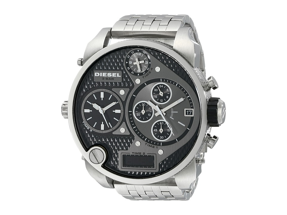 Diesel - DZ7221 (Silver/Black) Analog Watches