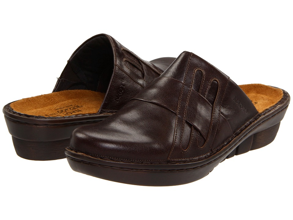 Naot Footwear - Leap (Oak Leather) Women's Clog Shoes