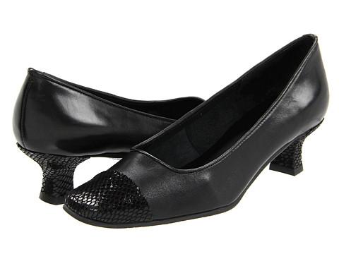 Vaneli - Rickie (Black Nappa/Black E-Print) Women's 1-2 inch heel Shoes