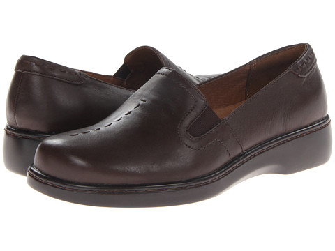 Naturalizer - Maestro (Oxford Brown Leather) Women's Slip on Shoes