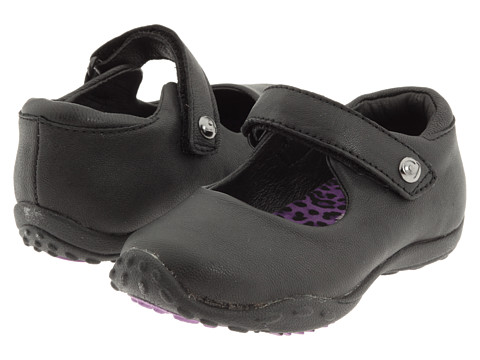 pediped - Bailey Flex (Toddler/Little Kid) (Black) Girl's Shoes