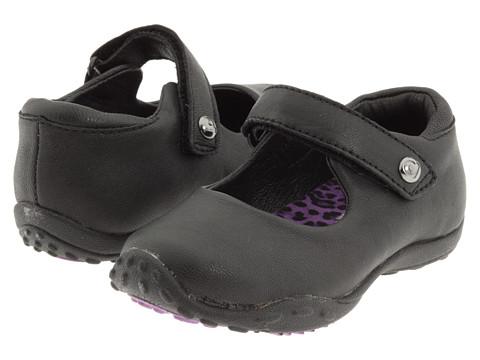 pediped - Bailey Flex (Toddler/Little Kid) (Black) Girl's Shoes