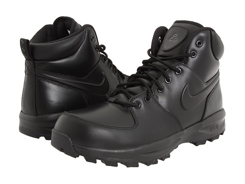 ... product image for Nike Manoa Leather (Black/Black/Black) Men's UPC  886059301714 product image for Nike Men's Manoa Leather Boots from Finish  Line ...