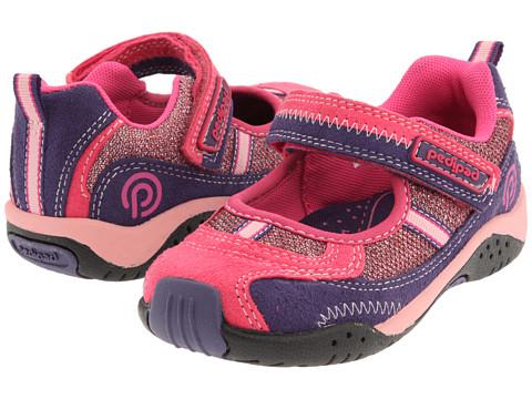 pediped - Dakota Flex (Toddler/Little Kid) (Fuchsia) Girl's Shoes