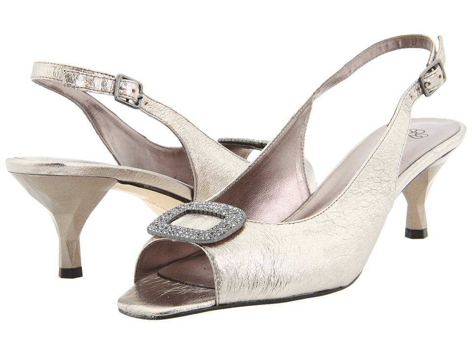 J. Renee Classic (Taupe Metallic Nappa Leather) Women