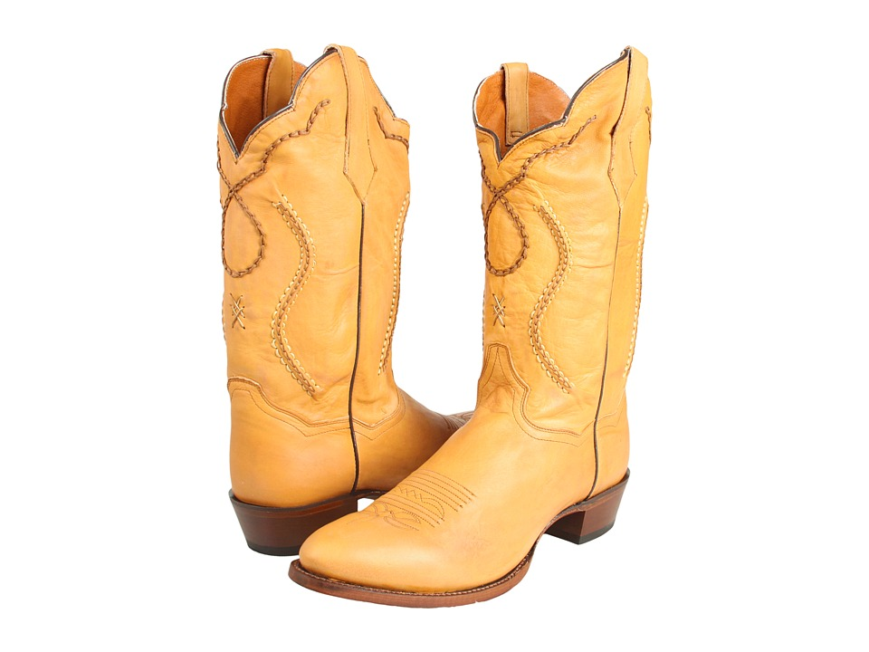 Dan Post - Albany (Palomino Saddle Leather) Cowboy Boots