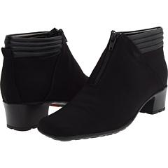 Sesto Meucci Sarine (Black Fabric Black Nappa) Footwear