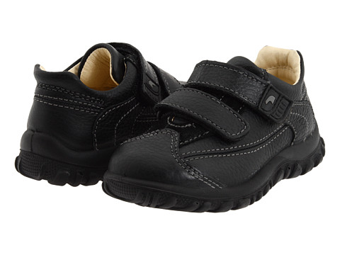 Primigi Kids - Fergus-E FW11 (Toddler) (Black Leather) Boys Shoes