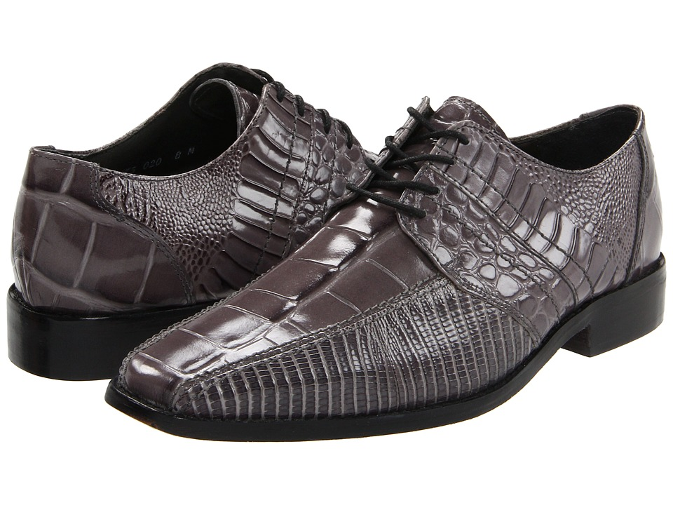 Stacy Adams - Pietro (Gray) Men's Shoes