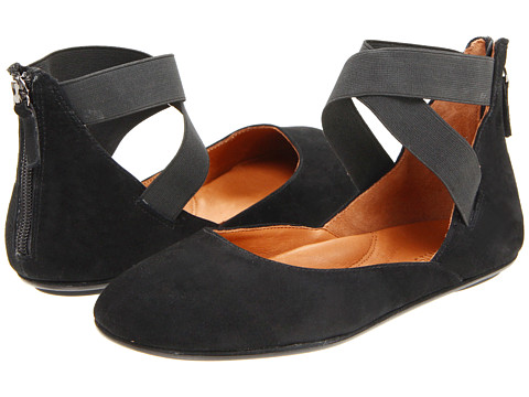 Gentle Souls - Bay Unique (Black Suede) Women's Flat Shoes