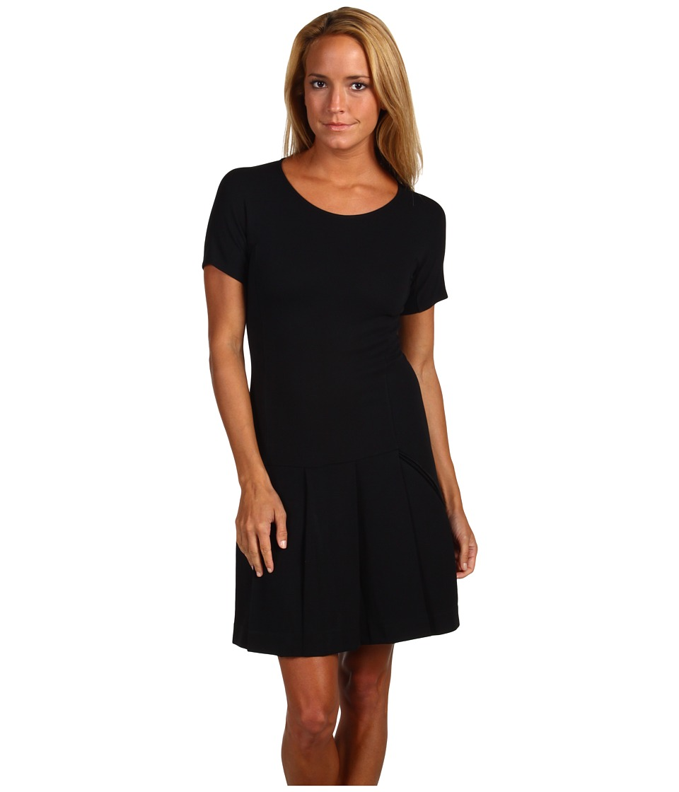 Theory - Ponti Viscose Edilina (Black) Women's Dress