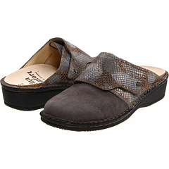buy Finn Comfort,  Aussee,  82526 (Grey/Granite Leather Classic Footbed),  Footwear fashion shop