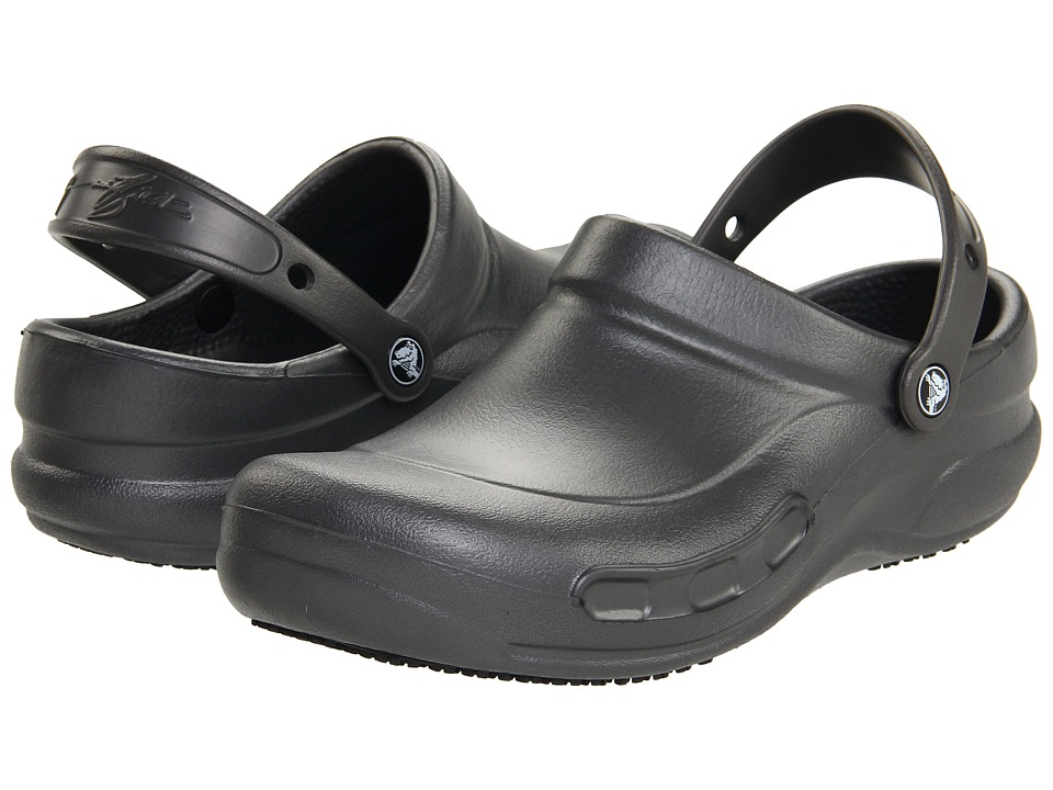 Crocs - Bistro (Unisex) (Batali Graphite) Clog Shoes