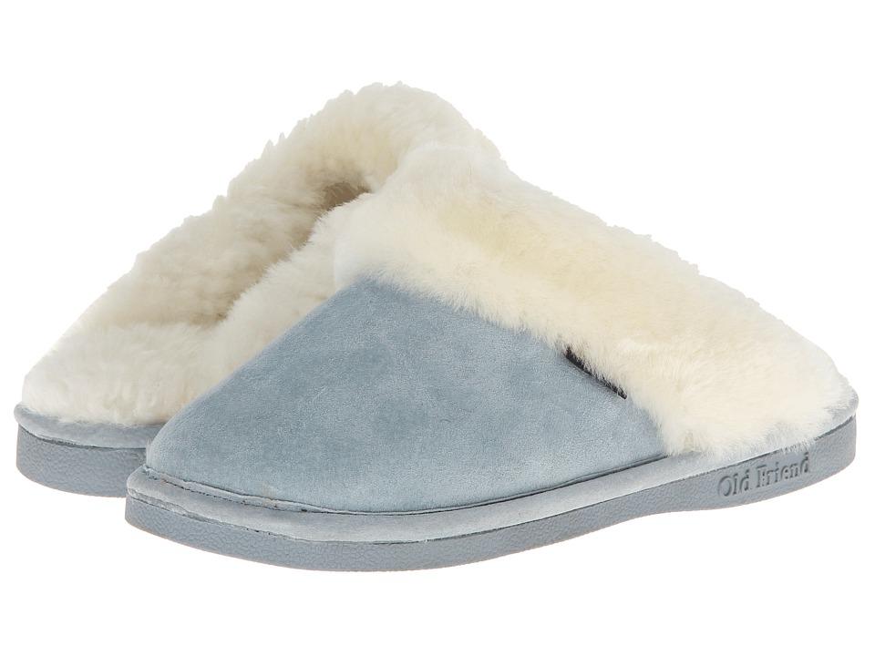 Old Friend - Ladies Scuff (Lt.Blue) Women's Shoes
