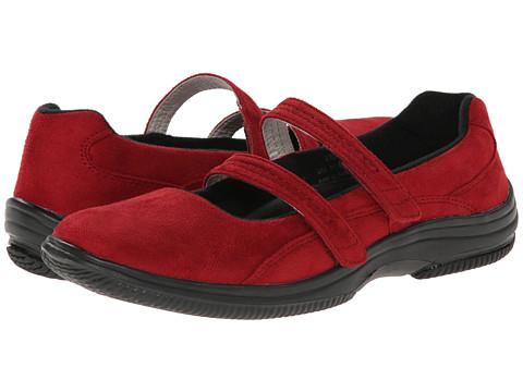Propet - Bilite Walker (Red Velour) Women's Maryjane Shoes