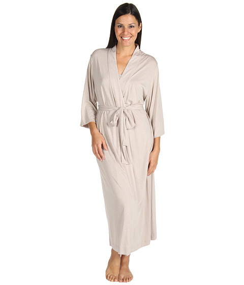 Natori - Shangri-La Robe (Heathered Cashmere) Women