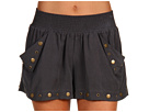 Type Z - Melanie Shorts (Black) - Apparel